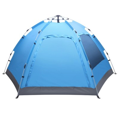 UBesGoo Automatic Tent Outdoor Easy Set Up Waterproof Camping Tent for 3-4 Person NKCZREW