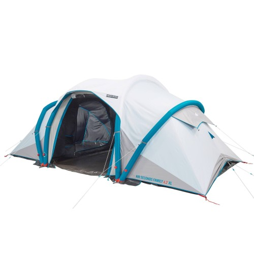 Quechua By Decathlon Air Seconds Fresh Black 4 2 Inflatable Camping Tent 4 Person 2