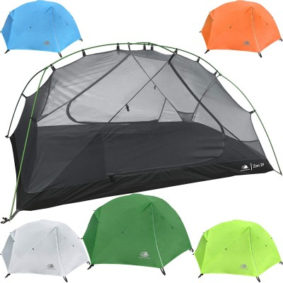 Hyke & Byke Zion 1 and 2 Person Backpacking Tents with Footprint - Lightweight Two Door Ultralight Dome Camping Tent XPYS8773